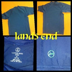 Lands End 10 to 12 Yrs Swim Cover Shirt